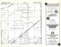 Map Image 012, Milwaukee County 1961